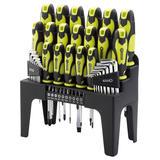 Draper 78619 864/44/G 44 Piece Screwdriver, Hex Key and Bit Set (Green)