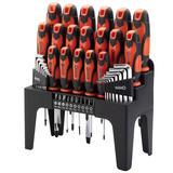 Draper 78620 864/44/O 44 Piece Screwdriver, Hex Key and Bit Set (Orange)
