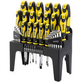 Draper 82832 864/44/Y 44 Piece Screwdriver, Hex Key and Bit Set (Yellow)