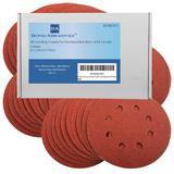 40 Bond Sanding Discs For VonHaus Random Orbit Sander 125mm 240 Grit