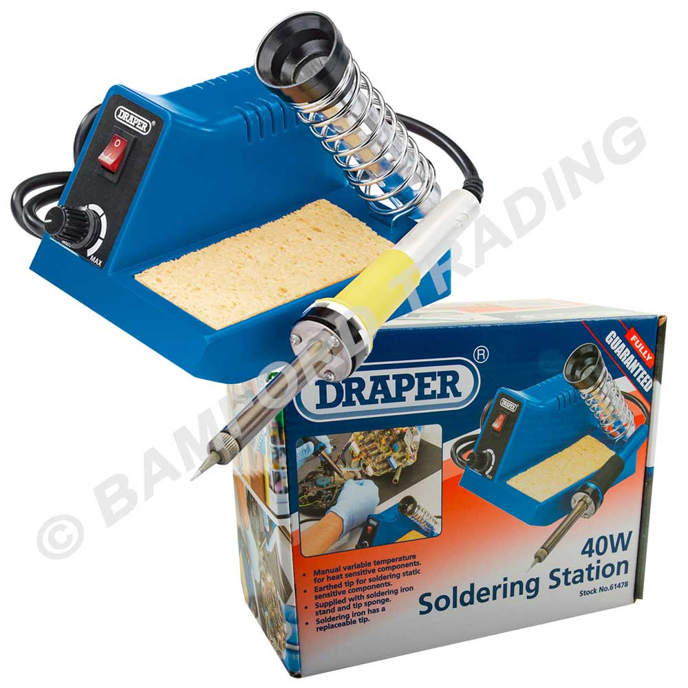 draper soldering iron work solder station universal 360 degree clamping kit ebay. Black Bedroom Furniture Sets. Home Design Ideas