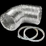 "Knightsbridge EX6DUCT 150mm/6"" Aluminium Ducting Kit"