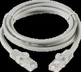 Knightsbridge NETC51M 1M UTP Cat5E Neworking Cable - Grey