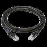 Knightsbridge NETC61M 1M UTP Cat6 Neworking Cable - Black