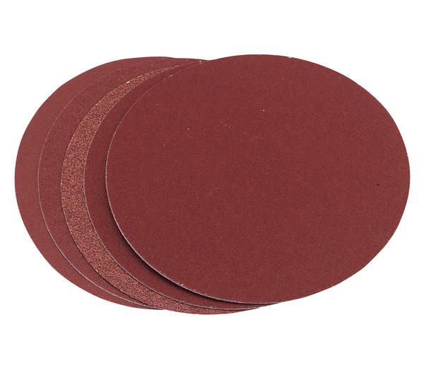 Product image for Draper 25971 SD6 5 x 150mm 60 Grit Aluminium Oxide Sanding Discs