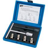 Draper 30823 DISC6 Expert 6 Piece Diesel Injector Seat Cutter Set