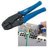 Draper 44052 CT-RJ45 225mm RJ45 Ratchet Crimping Tool