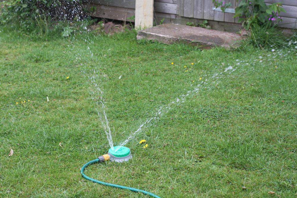 360 garden lawn hose watering sprinkler soaker spray ebay