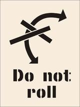 Thumbnail 1 of Do Not Roll Stencil (600 x 800mm)