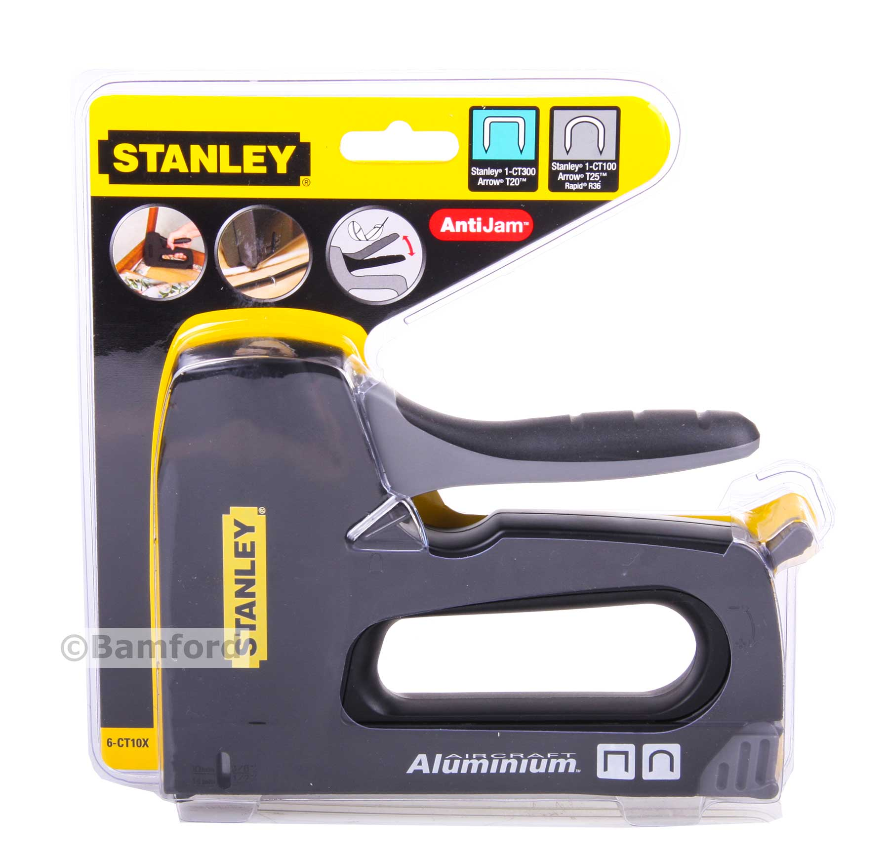 Stanley Wiring Harnes: Stanley Cable Stapler Tacker Gun 6CT10X For Round & Flat