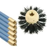 "Bailey Flue Cleaning Set with 6 x 1m Rods and 1 x 6"" Brush"