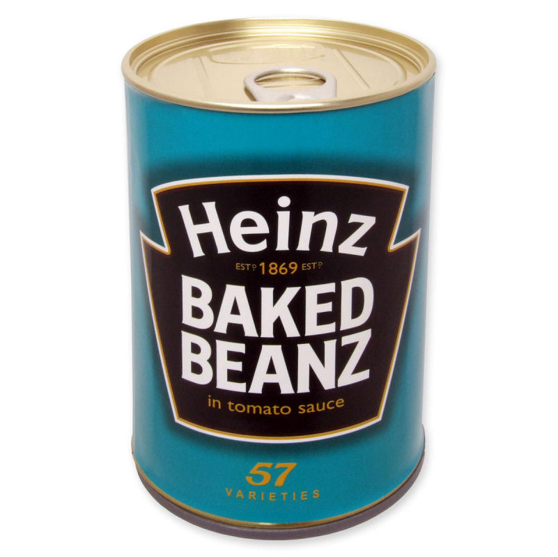 HIDDEN SECRET SECURITY FAKE SAFE HEINZ BEANS CAN STASH