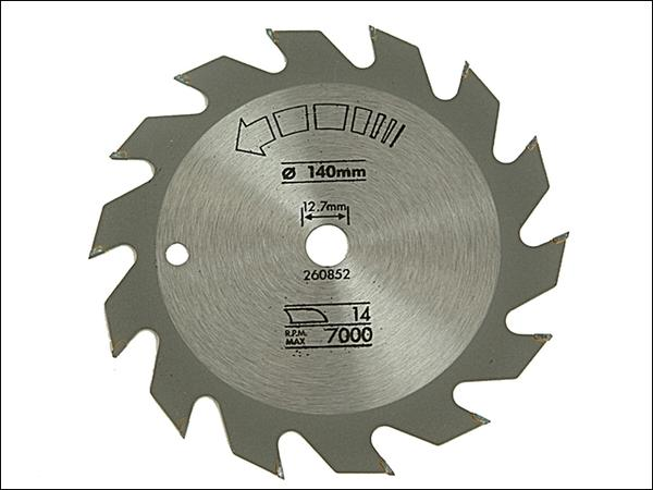 Product image for Black & Decker Circular Saw Blade Rip 140 x 12.7 x 14t
