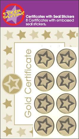 gold star award. 8 NEW CHILDRENS GOLD STAR