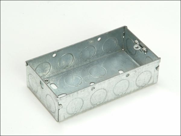 Product image for SMJ Metal Back Box 16mm 1 Gang