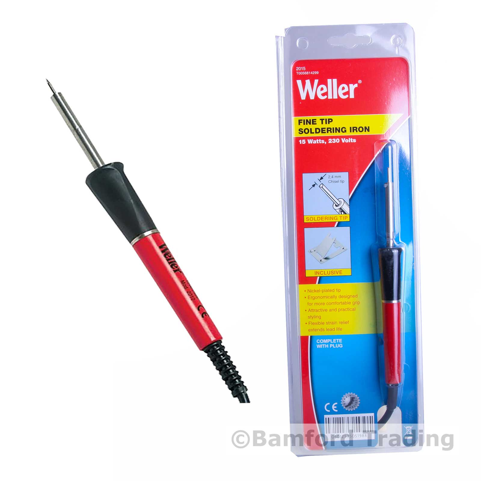 weller 2015 precision soldering iron with 2mm tip 15w 240v new miniature small ebay. Black Bedroom Furniture Sets. Home Design Ideas