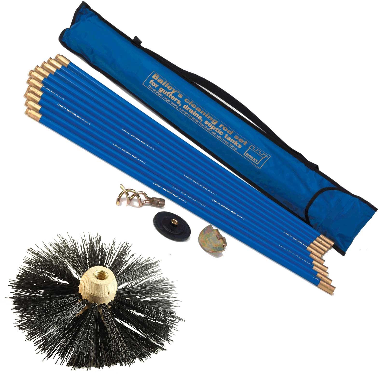 Chimney Flue Brush Set