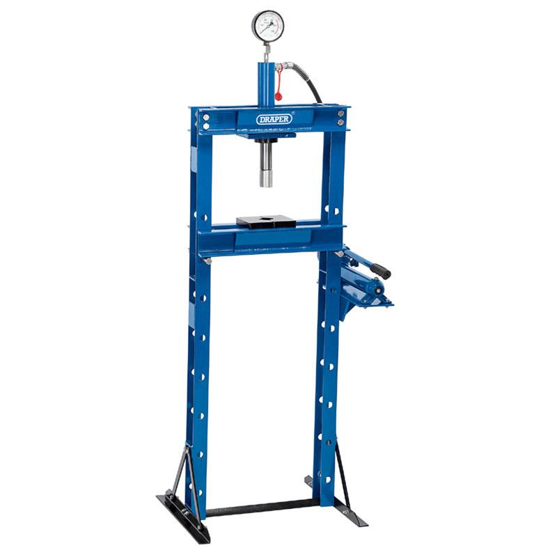Draper 10 Tonne Hydraulic Floor Press With High Pressure