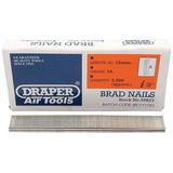 Draper 59823 AAN15 15mm Brad Nails (5000)