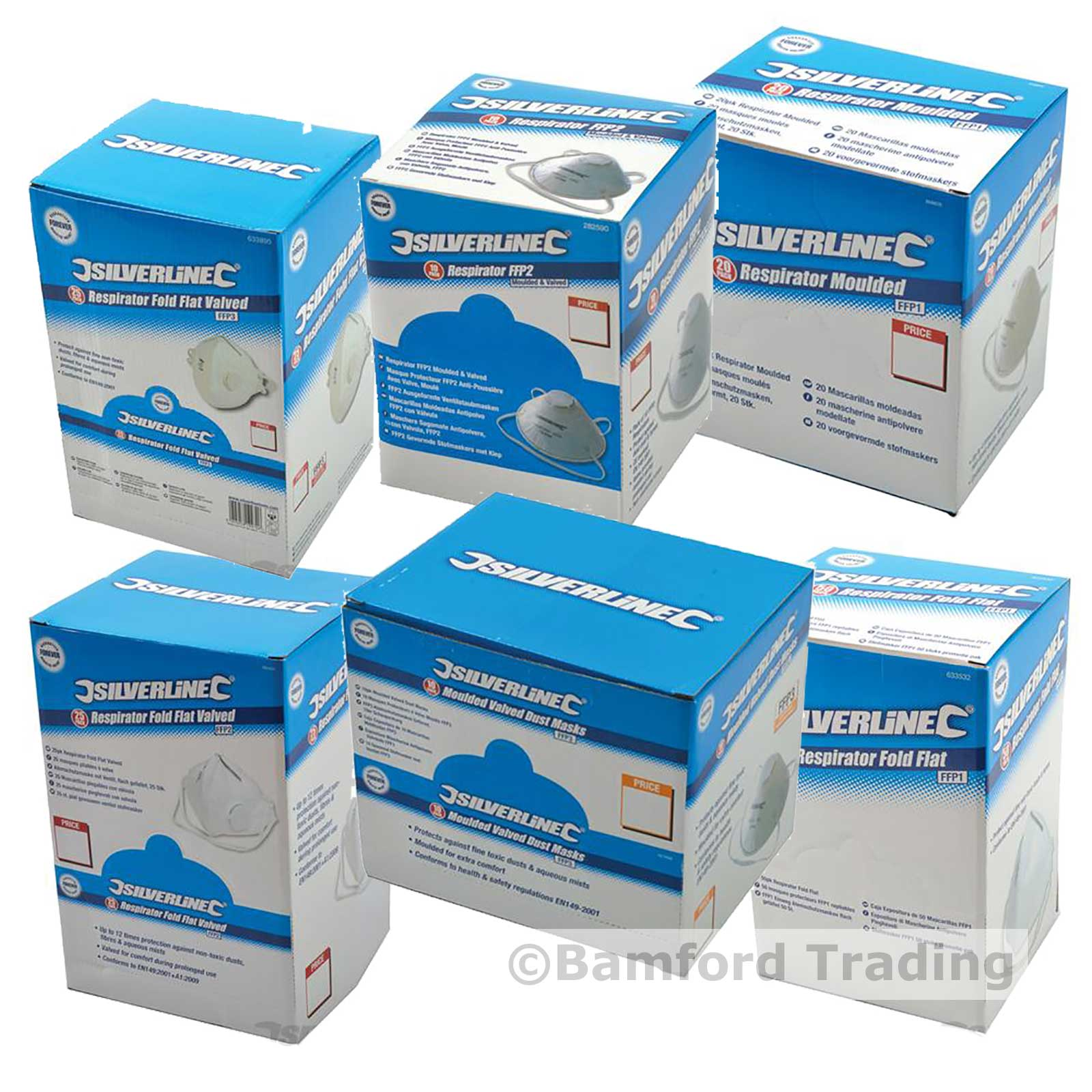 Silverline Disposable Dust Masks | Silverline Disposable Dust Masks ...