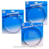 "Silverline 1425mm (56"") Bandsaw Blades 6 10 and 14 TPI"