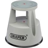 Draper 25356 PKS Warehouse Kickstool/Stepstool on Wheels
