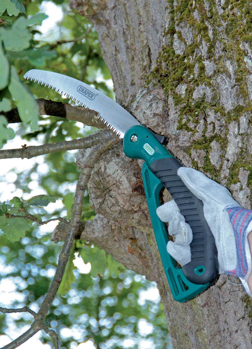 Draper quality pruning saw foldable folding tree branch for Garden tools best quality