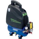 Draper 24974 DA6/169 6L 230V 1.1kW (1.5hp)  Oil-Free Air Compressor