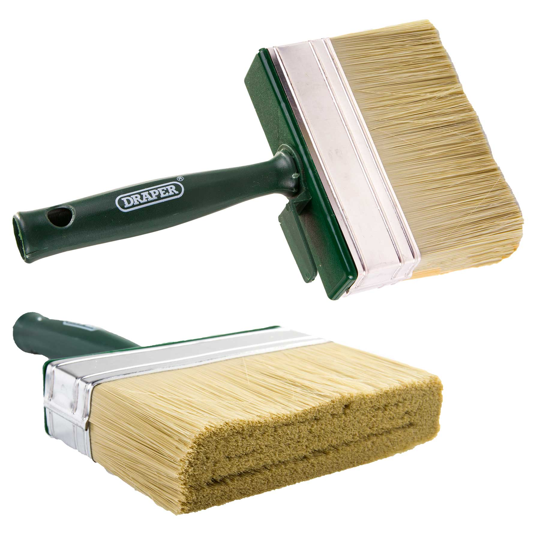Draper mm wide shed and fence paint brush stain