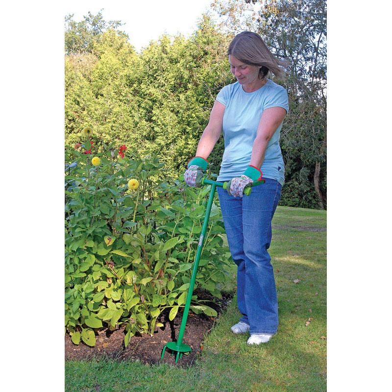 Draper hand cultivator tiller long handled weeder garden for Gardening tools singapore