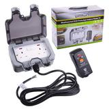 Masterplug Weatherproof Outdoor Mains Power Kit Nexus WP22KIT/3