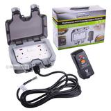 Masterplug Weatherproof Outdoor Mains Power Kit