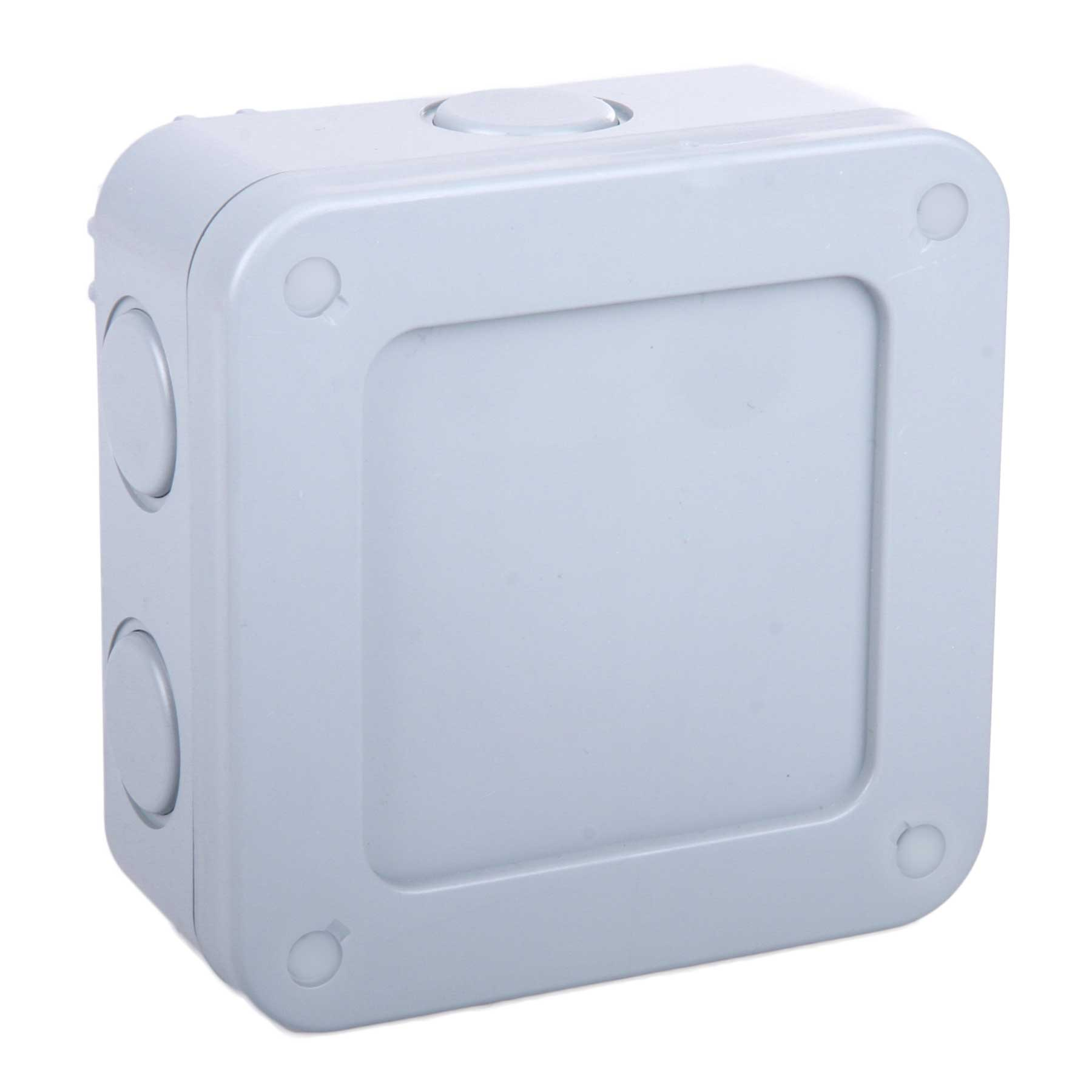 Masterplug Weatherproof Outdoor Junction Box 5 Pole Terminal Block Masterplug Weatherproof