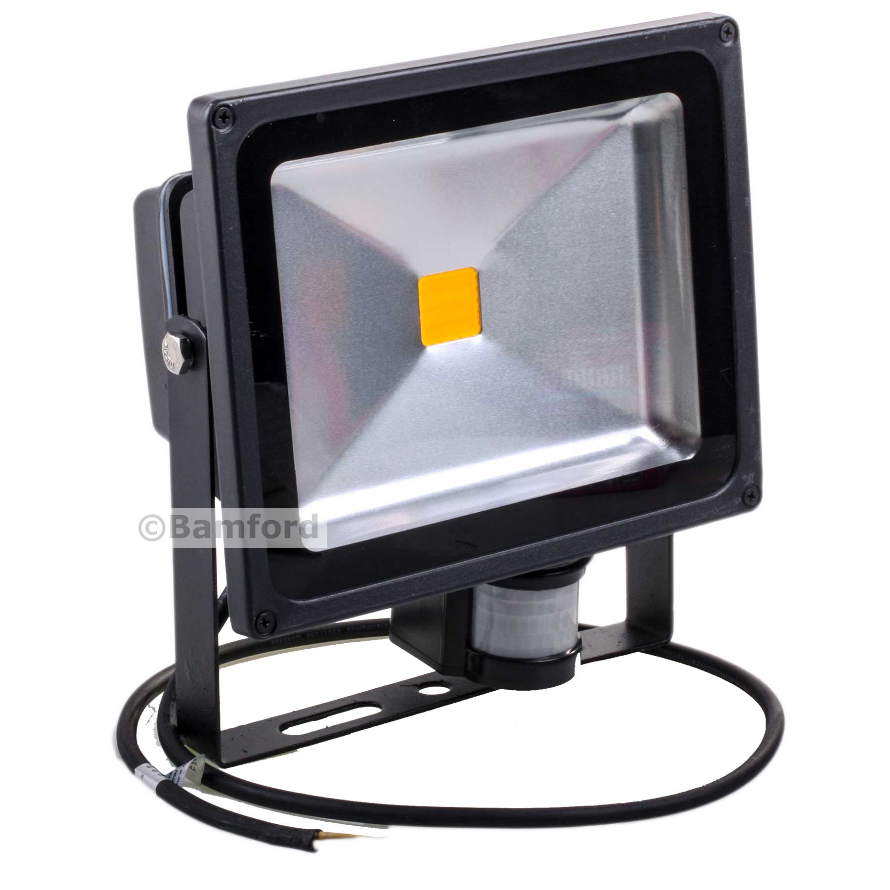 30w led guardian floodlight with pir home security. Black Bedroom Furniture Sets. Home Design Ideas