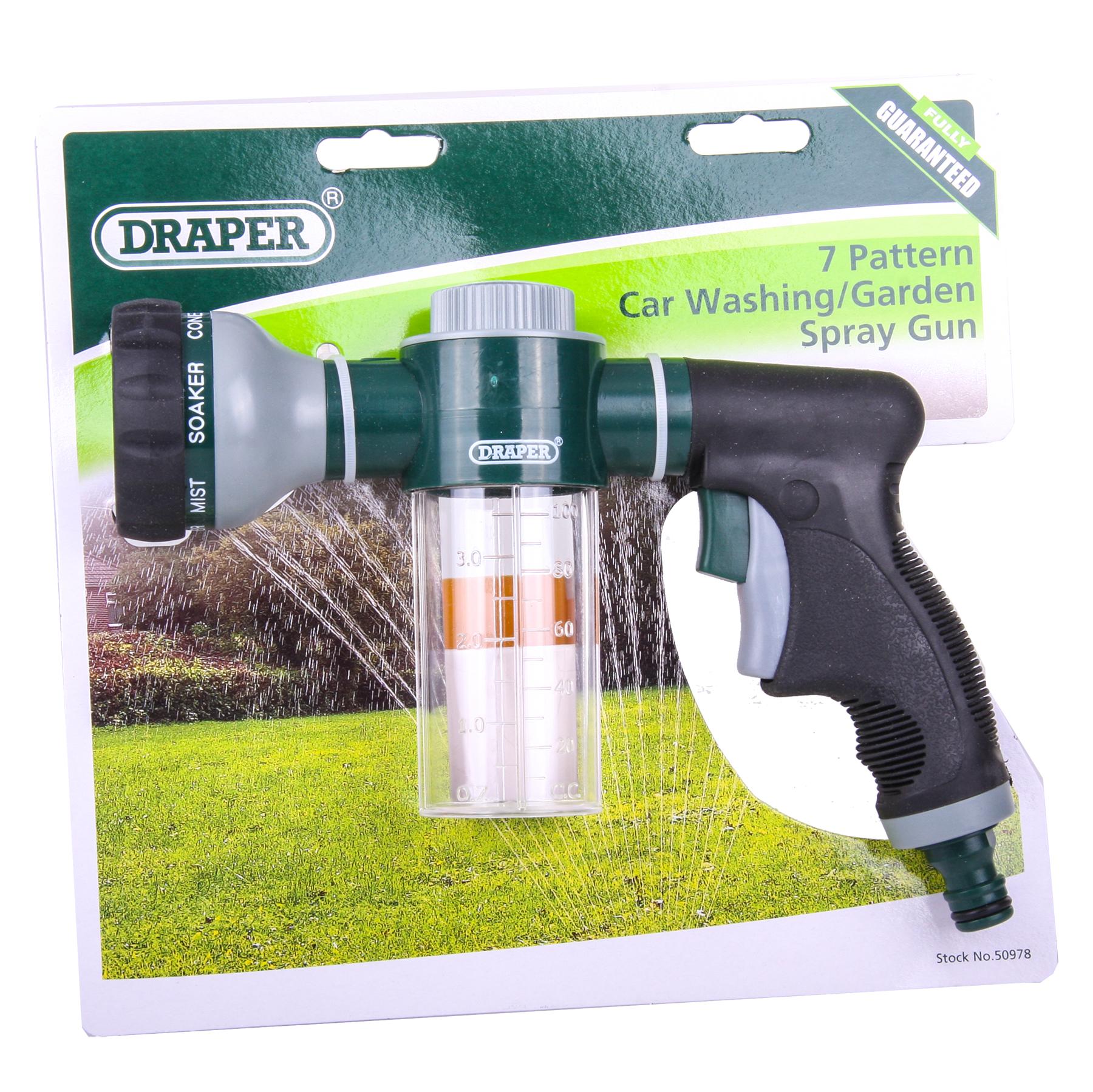 /Draper 50978 GWCWG/2 Car Wash Or Fertiliser Spray Gun