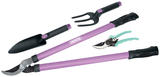 Draper 36818 GLTS4DD Pastel Range Garden Tool Set 4 Piece