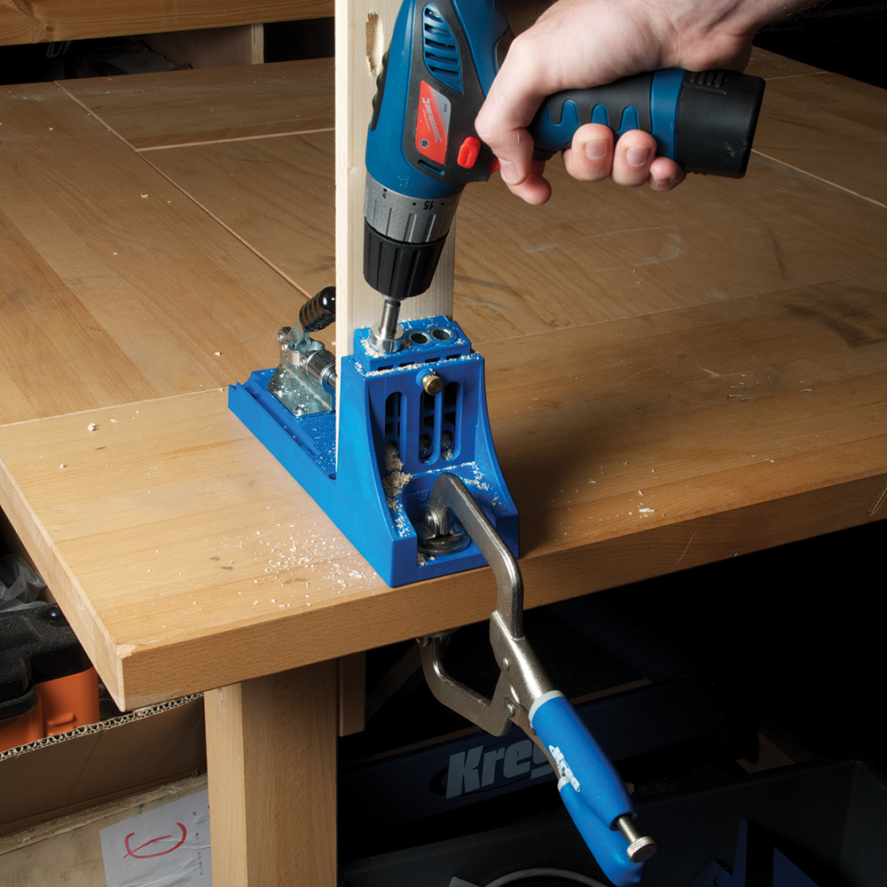 kreg pocket hole jig manual