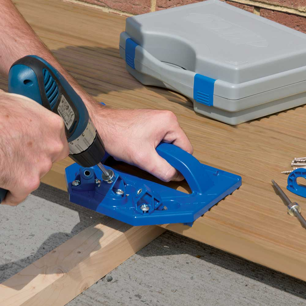 Deck Board Installation Tool ~ Kreg deck jig system kjdecksys