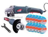 Silverline 563709 Angle Grinder Kit 115mm