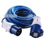 Silverline 14m Caravan Camping Hook Up Cable 16A Site Extension Lead Electric