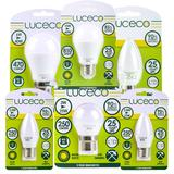 Luceco LED Light Bulbs Lamps Lighting Energy Saving in Popular Shapes & Fittings