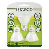 Luceco LGDW5W37/3-LE LED Light Bulb GU10 Dimmable Lamp (ECOX3)