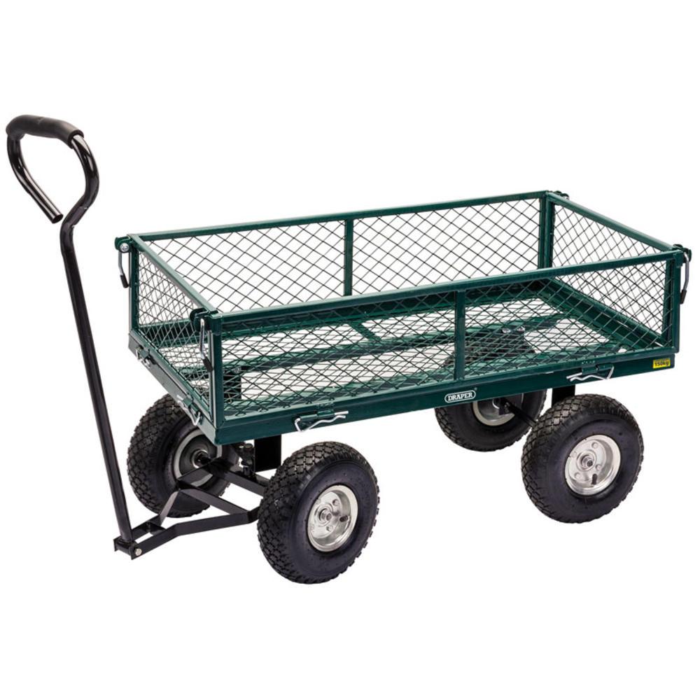 Draper 58552 Gmc Steel Mesh Garden Cart Trolley Draper
