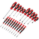 Draper 80920 RL-SD20/B Redline 20 Piece Soft Grip Screwdriver Set