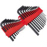 Draper 80930 RL-HK25/B Redline 25 Piece Metric/Imperial Hexagon Key Set