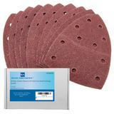 40 Bond Sanding Sheets For Skil Octo Detail Palm Sander 40 Grit (Very Coarse)