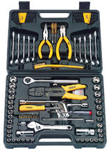 Draper 19728 DIY-TK12 Diy Series 95 Piece 1/4, 3/8 Sq. Dr. Tool Kit