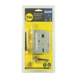 "Yale 2�"" Internal Door 2 Lever Mortice Sash Lock 67mm 2.5"" Polished B"
