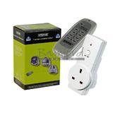 Status SREMSOC Energy Saving Power Socket with Remote Controller