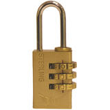 Cpl120 Sterling Locks 20mm 3 Dial Combination Luggage Padlock